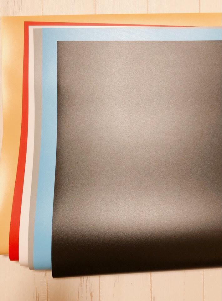 SAMTIAN 撮影ボックスの付属品である背景布。全部で6色あり、豊富なカラーバリエーションになっている。