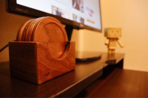 木製雑貨 おすすめ 木製コースター
