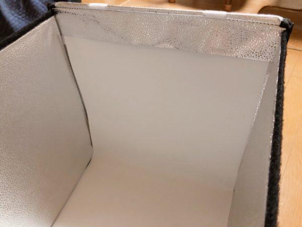 SAMTIAN 撮影ボックス 組み立て方 背景布をセット