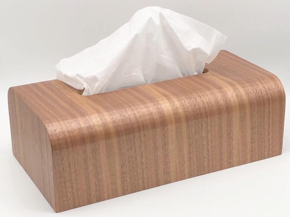 MUMAMI 木製ティッシュボックスは、ティッシュ箱がおしゃれなインテリアになる