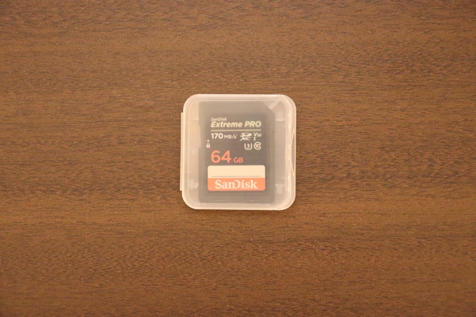 EOS Kiss X10におすすめのSDカードはSandiskのExtream Pro 64GB