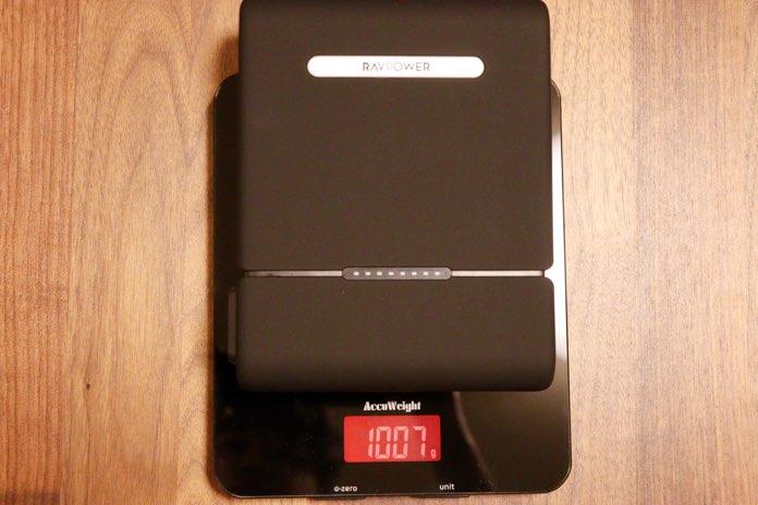 RP-PB055の重さは1kg
