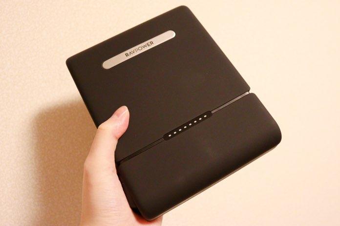 RAVPower RP-PB055は大容量モバイルバッテリー